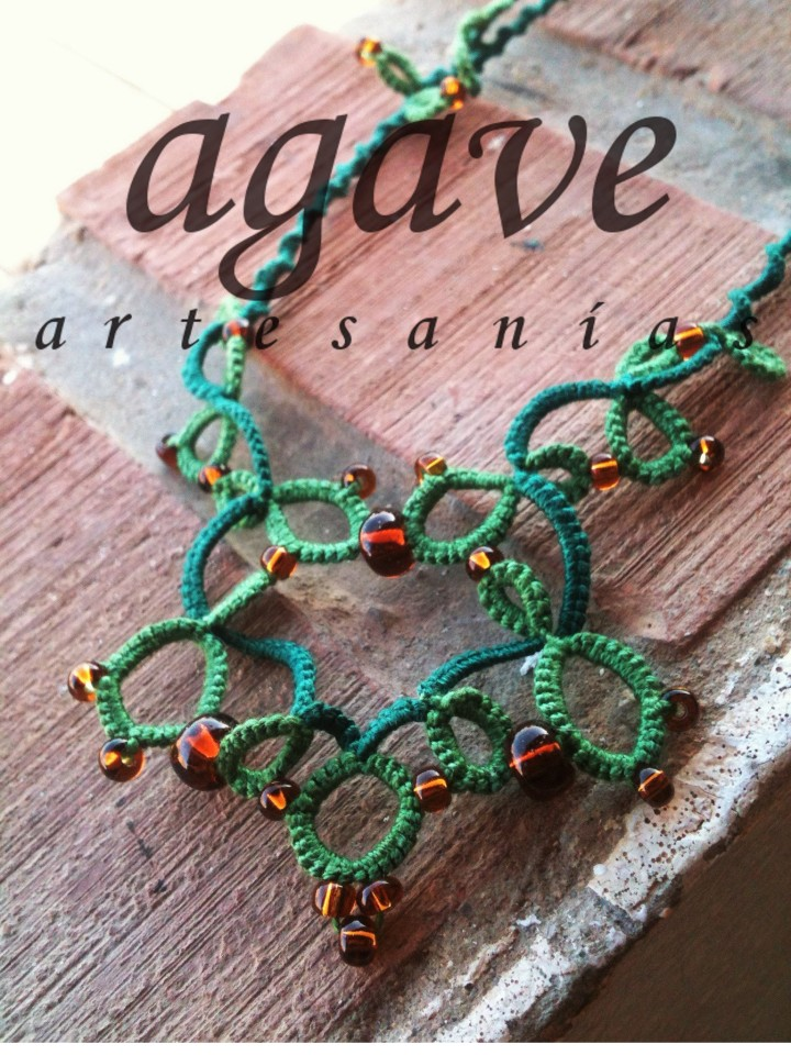 arabesco verde e ambra